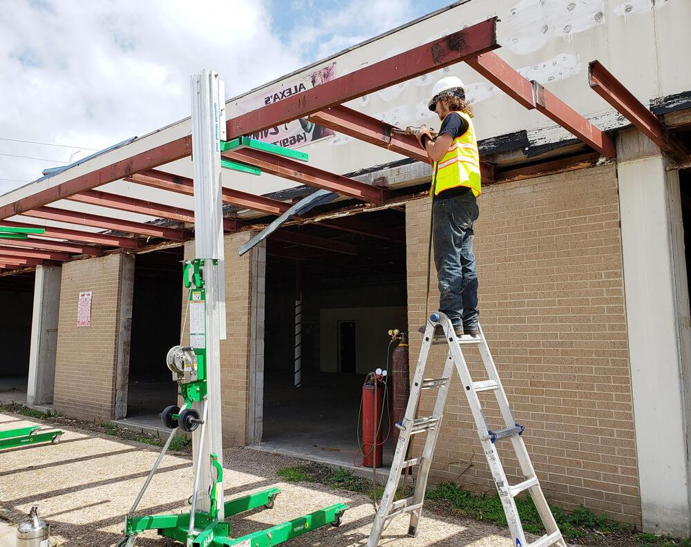 patio roof rails